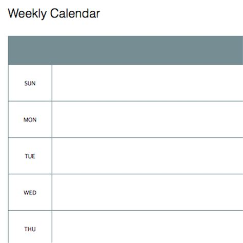 weekly template calendar evernote 2015 calendar template search results