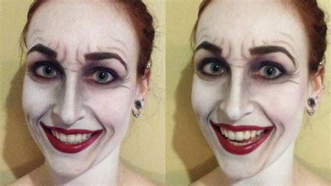 halloween makeup tutorials 2015 batman vs joker youtube classic joker makeup tutorial youtube