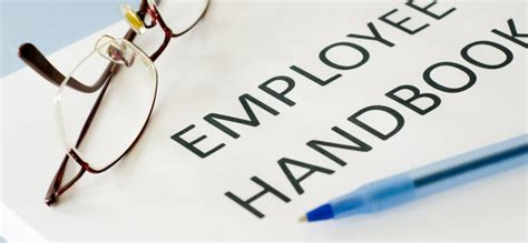 what to include in an employee handbook inc
