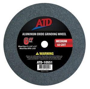 bench grinder wheels suppliers atd tools 10551 6 quot med grit bench grinder wheel