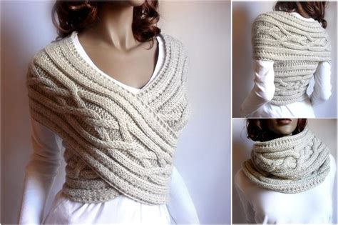 how to knit a sweater in knitted womens sweater cowl vest pattern tutorial