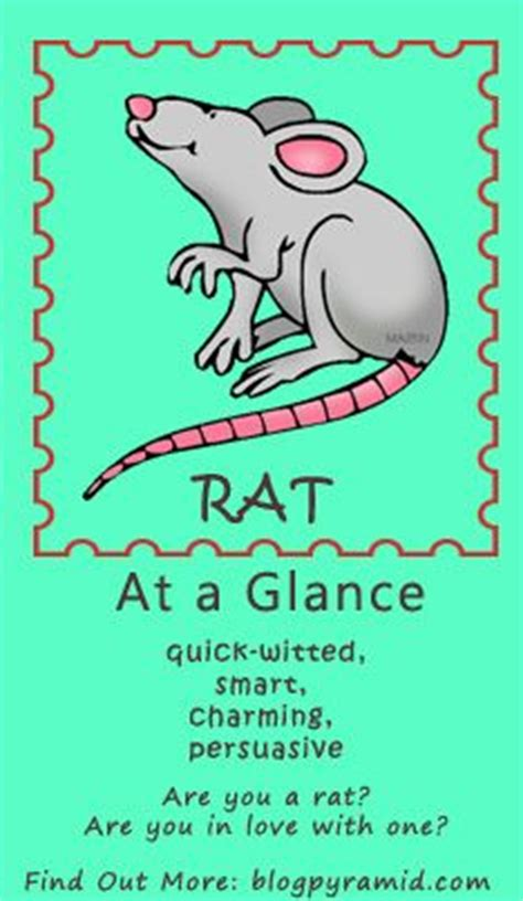 32 best images about zodiac rat on pinterest horoscope