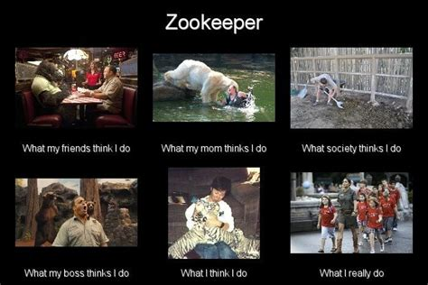 What I Actually Do Meme - zookeeper what i really do meme by leftysmudgez on deviantart