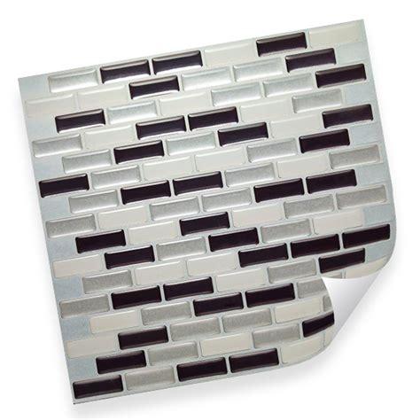Selbstklebende Fliesen Wand by Selbstklebende Vinyl Mosaik 3d Fliesen Wandgestaltung
