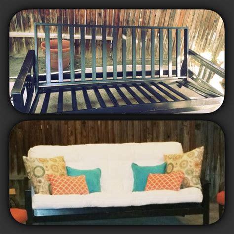outdoor futon frame best 25 outdoor futon ideas on pinterest pallet futon