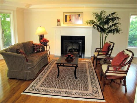 Staging Living Room Furniture by Spaces Streamlined Home Staging Organization Redesign