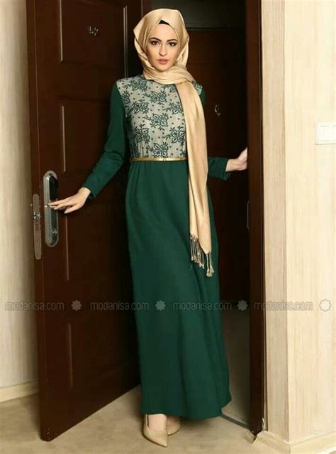 Fancy Brukat Top styles hijabs and on