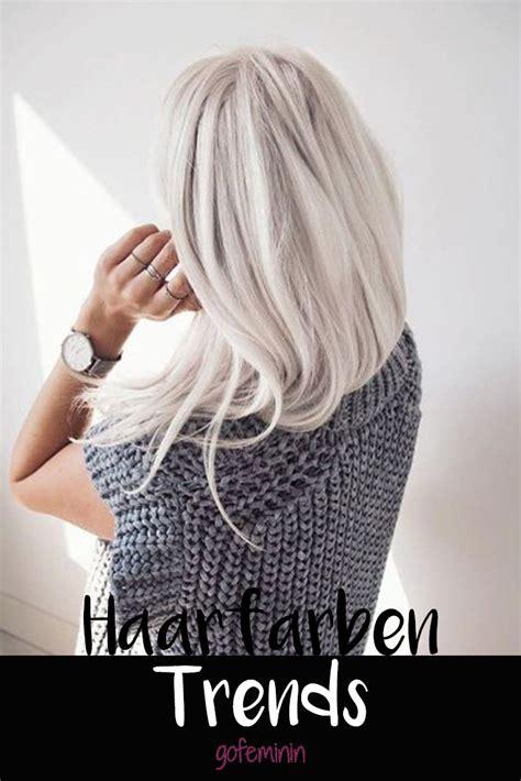 das sind die trend haarfarben  welche haarfarbe