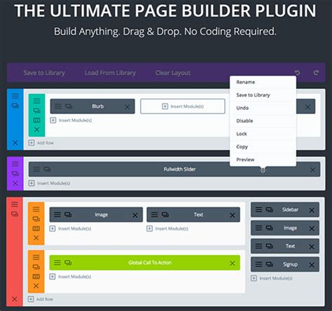 elegant themes builder plugin download elegantthemes divi builder v1 0 wordpress plugin