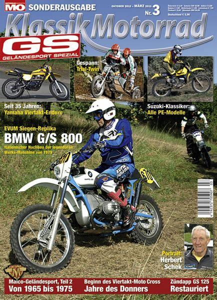 Motorrad Magazin Sonderheft by Gel 228 Ndesport Klassik Sonderheft Nr 3 Motorrad Magazin Mo