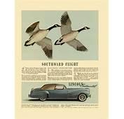 1941 Lincoln Continental Ad 01