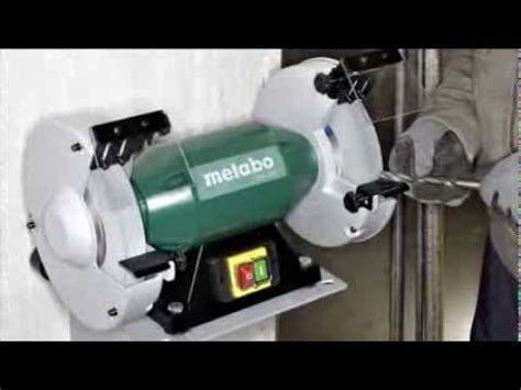 metabo ds 200 8 inch bench grinder metabo ds 200 8 inch bench grinder youtube