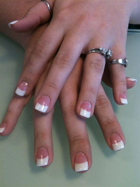 how to do solar nails at home pink and white powder or called solar nails yelp