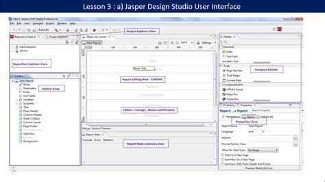 tutorial design studio pentaho jaspersoft bi suite tutorials learn jaspersoft bi