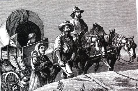 Many Moved West In Search Of New Land And A Better Way Of Emigration To And Within The United States In The 1800s