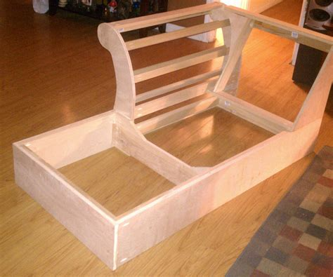 build a couch diy build a chaise frame from scratch