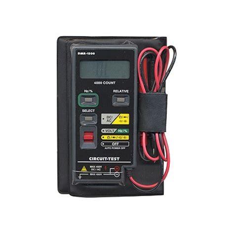Multi Tester Digital Kecil Pocket Size Digital Multimeter Dt830b dmm autoranging pocket sized