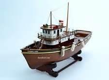 tugboat captain band tug boat model ebay