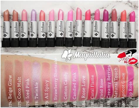 Lipstik Jordana 30 best images about lipstick swatches on