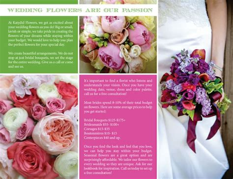 Wedding Brochure Bouquets by 17 Best Images About Florist Brochure On