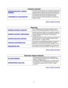manufacturing disaster recovery plan template tk003 disaster recovery business continuity