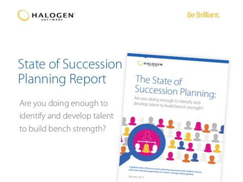 bench strength succession planning state of succession planning report are you doing enough