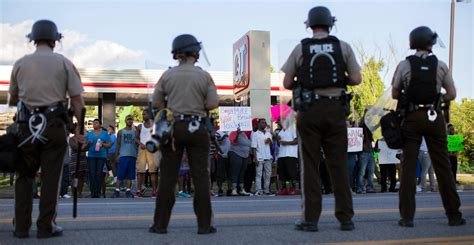 Ferguson Mo Arrest Records Michael Brown Authorities Acknowledge Right To Record Nbc News