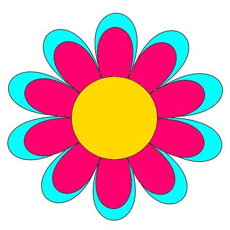 disegni colorati fiori immagini di fiori colorati da stare