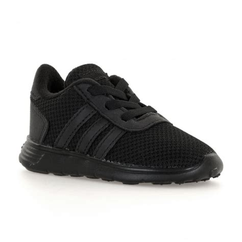 adidas lite racer black adidas neo infants lite racer 317 trainers black kids