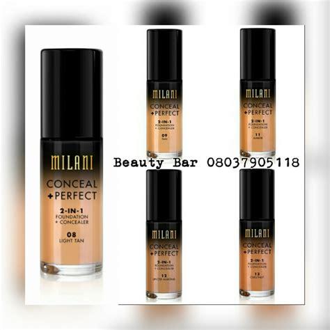 Foundation Milani Original New Milani Conceal Liquid Foundation