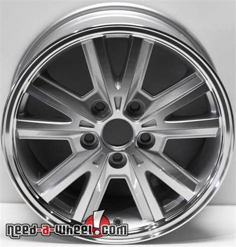 16 mustang wheels 16 quot ford mustang replica wheels 2005 2009 machined replace