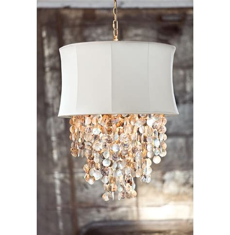 Queensland Coastal Beach Abalone Shell Ivory Chandelier Abalone Shell Chandelier
