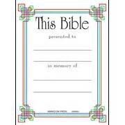 bookplate template search results for christian bookplate templates