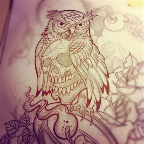 owl tattoo designs drawings 301 moved permanently