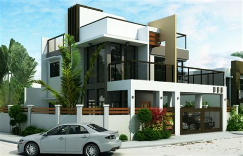 modern two story 4 bedroom ester four bedroom two story modern house design eplans modern house designs small