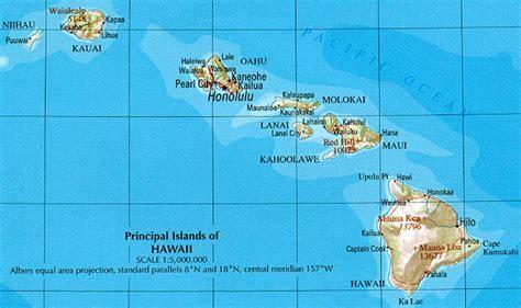 map of hawaii free printable maps