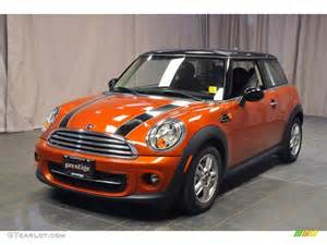 Orange Mini Cooper 2013 Spice Orange Metallic Mini Cooper Hardtop 72245440