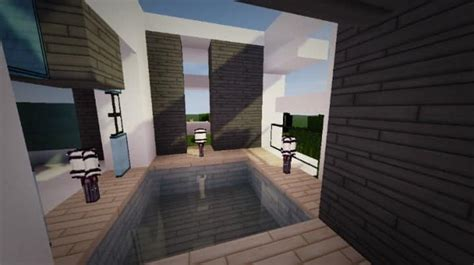 minecraft modern house interior design themodern pvper s modern house minecraft house design