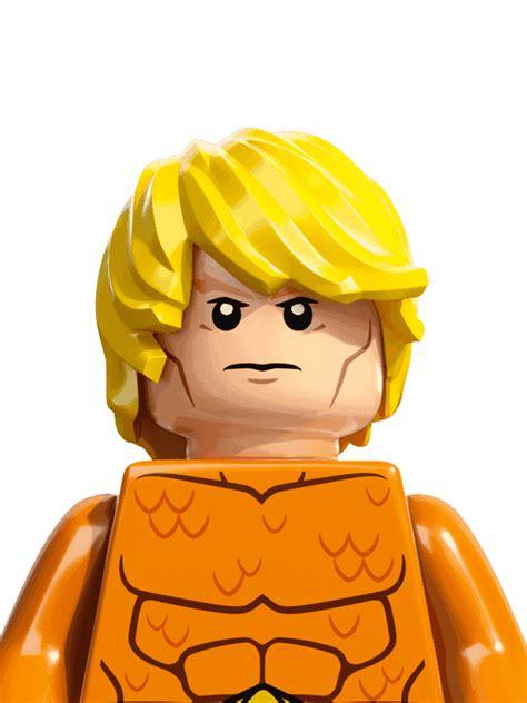 aquaman personajes dc comics heroes lego
