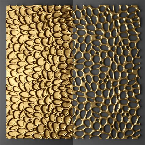 Corian 3d Design by 3d Model Of Panel Futurism