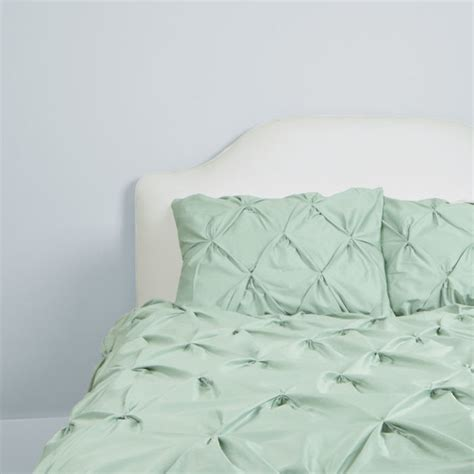 seafoam green coverlet 400 thread count pintuck duvet cover the valencia seafoam