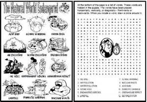 the natural world endangered worksheet