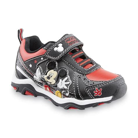 sneakers for toddler boys disney toddler boy s mickey mouse black sneaker