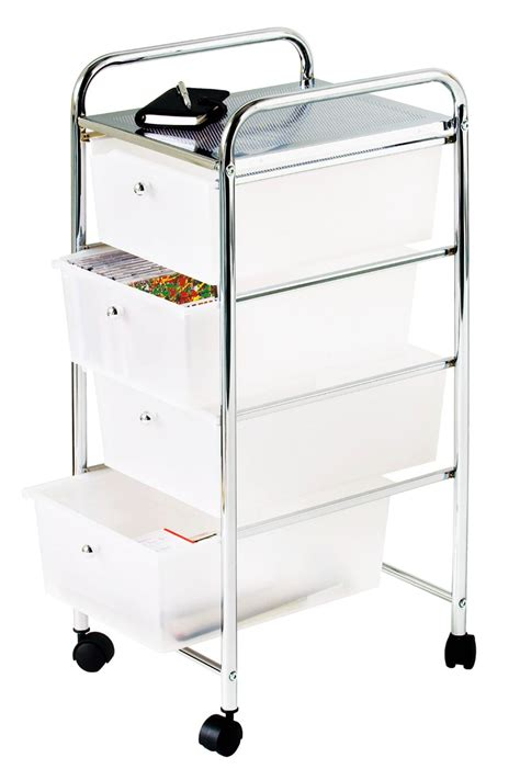 portable drawers for clothes portable four tier kitchen storage trolley bedroom kids