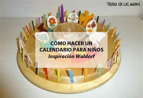 Como Hacer Un Calendario Con Fotos C 243 Mo Hacer Un Calendario Para Ni 241 Os Inspiraci 243 N Waldorf