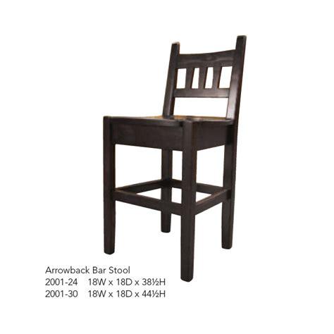 Arrowback Bar Stool by Arrowback Bar Stool Folkart Interiors