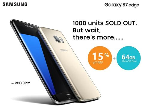 Hp Samsung S7 Malaysia missed the 1000 s7 edge pre order 15 and 64gb microsd for the next 2000 zing gadget