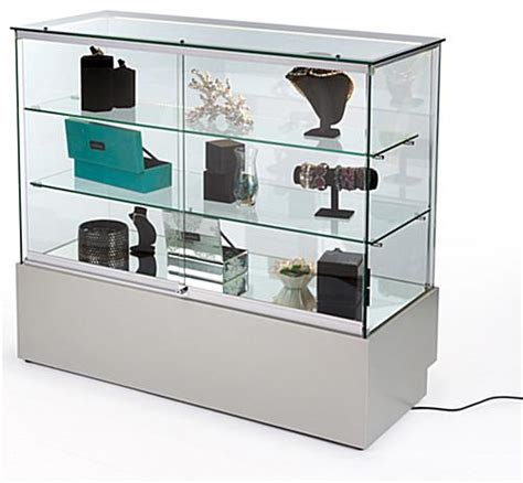 Built In Glass Display Cabinets by These Display Cabinets Tempered Glass Shelves With