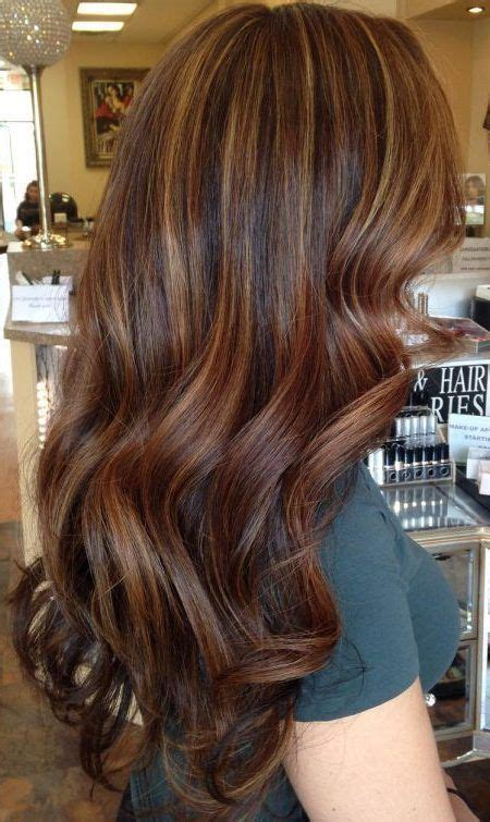 best hair highlight trends this year dark and light brown hair ideas with highlights best