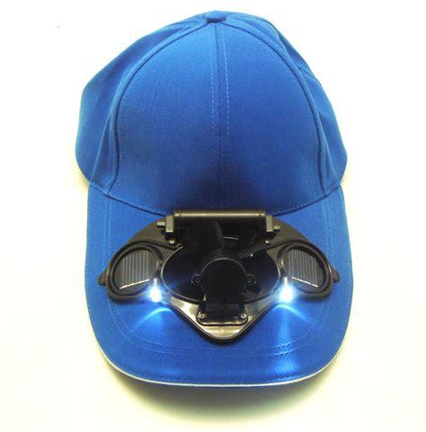 hat with fan built in l 233 nergie solaire dans notre q